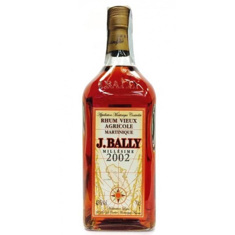 RHUM J.BALLY MILLESIMATO 2002 CL.70