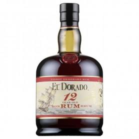 RHUM EL DORADO DEMERARA 12Y CL.70