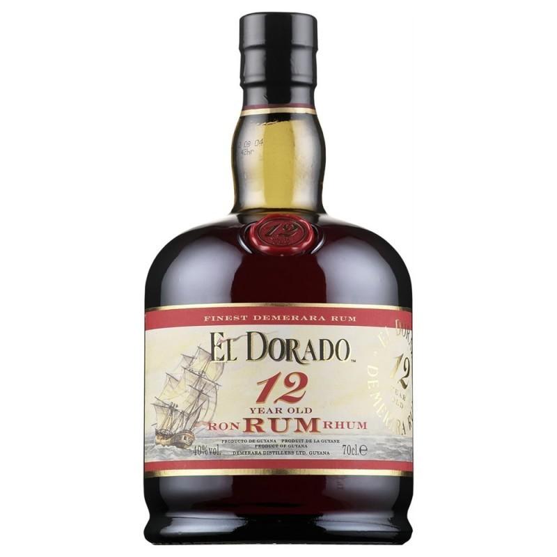 RUM EL DORADO DEMERARA 12Y CL.70