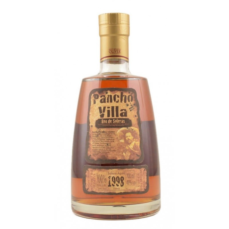 RHUM PANCHO VILLA SOLERA AGED 1998 CL.70