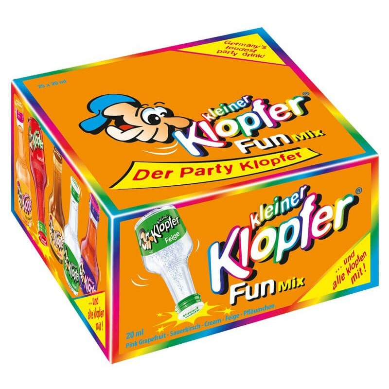 LIQUORE  KLEINER KLOPFER FUN MIX MIGNON 25 BT X 2 CL.