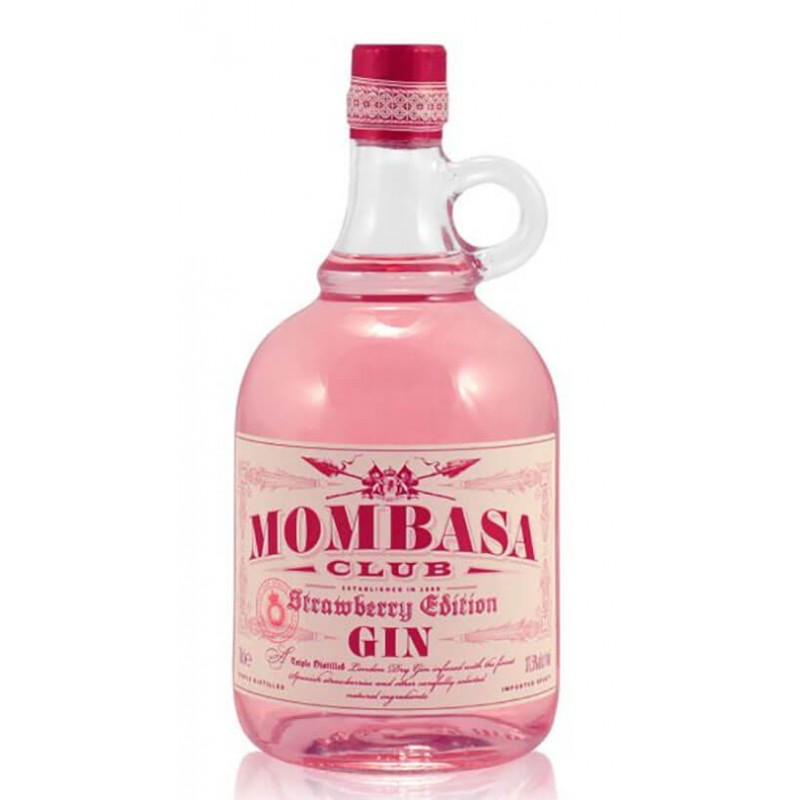 GIN MOMBASA CLUB STRAWBERRY EDITION CL.70